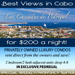 Private vacation condo for rent in Cabo San Lucas