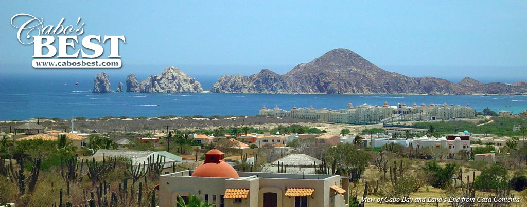 View from Cabo San Lucas Bed and Breakfast Inn, Casa Contenta