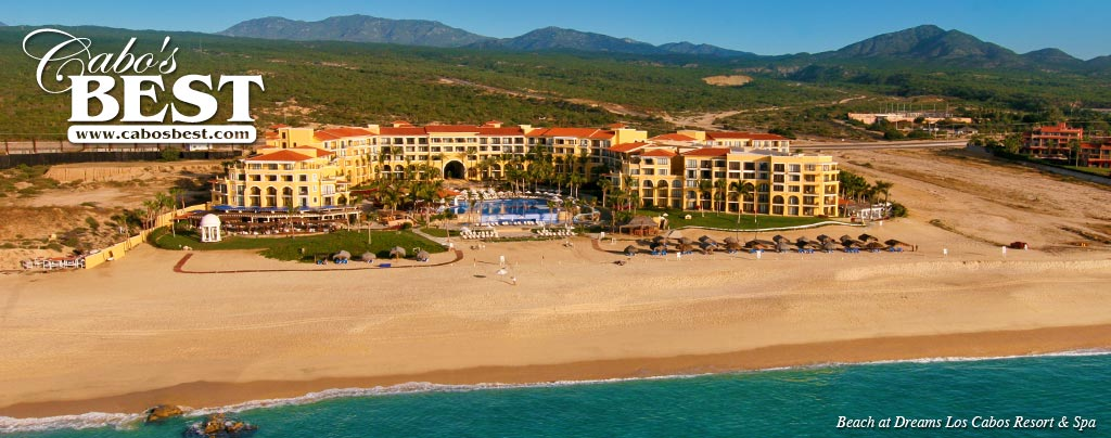 Dreams Los Cabos resort on the Sea of Cortez
