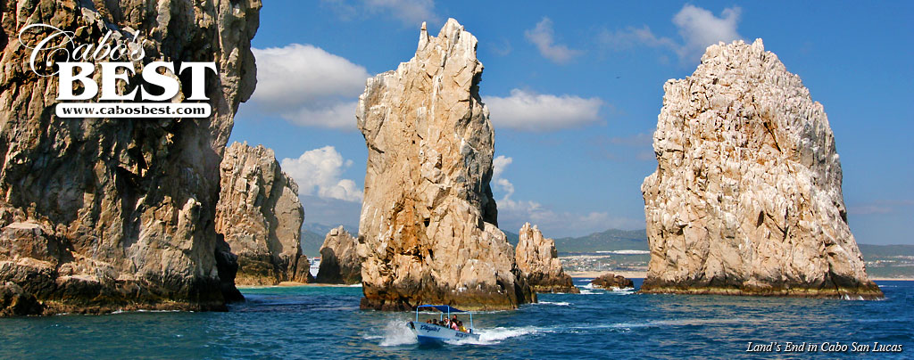 Rock Pinnacles at Land's End in Cabo San Lucas