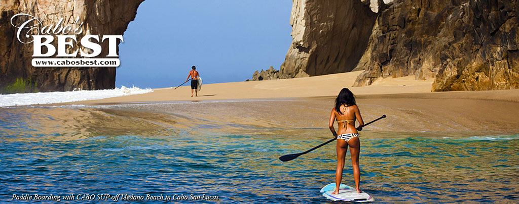 Stand up paddle boarding in Cabo San Lucas
