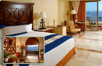 The Executive Suites at Sunset Beach in Los Cabos are spacious and luxurious.