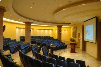 Conference theater at Playa Grande Resort