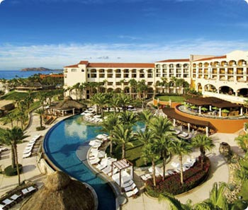 View of Hilton Los Cabos looking towards the south.